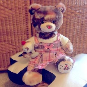 Build a bear ice cream sundae RARE plush toy NWOT